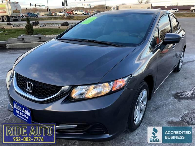 2015 Honda Civic LX, 4 door sedan, 4cyl, CLEAN !