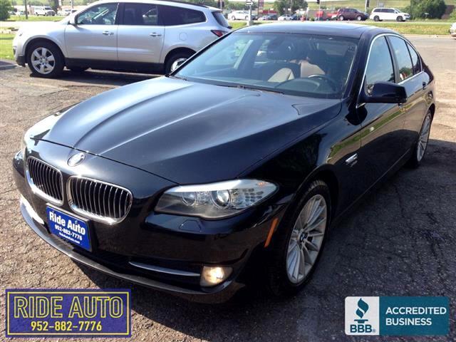 2011 BMW 535i X-Drive AWD, Twin Turbo 6cyl, LOADED, nice