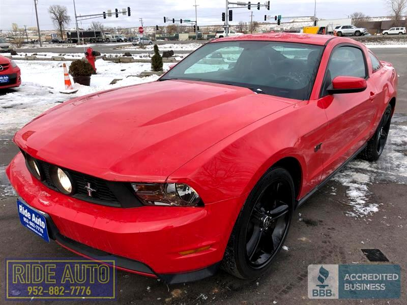 2010 Ford MUSTANG GT 2 door coupe, 325HP 4.6 V8, bright red, NICE !!!