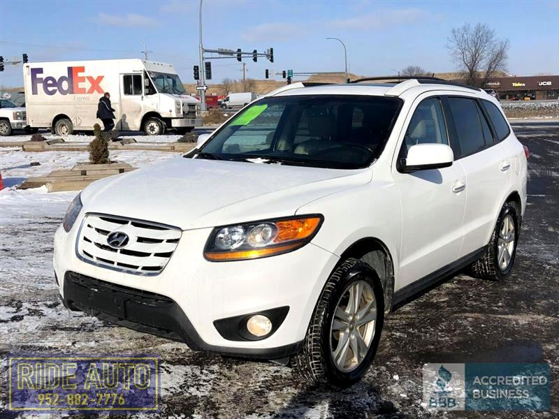 2010 Hyundai Santa Fe Limited, AWD 4x4, 3.5 V6, leather, nice !