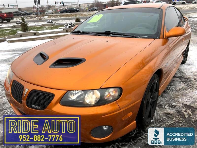 2006 Pontiac GTO 2 door hard top, 400hp 6.0 V8, 6 speed, NICE !