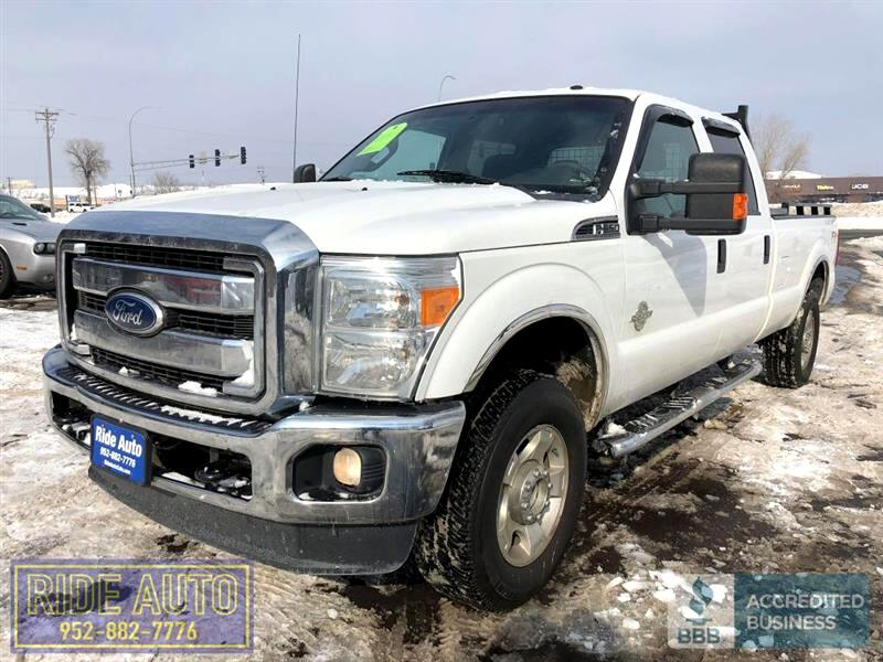 2011 Ford F350 XLT, Crew cab 4dr, 4X4, LONG BOX, 6.7 Diesel !