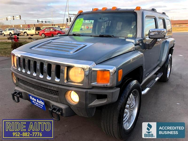 2007 HUMMER H3 Adventure package, leather, P-roof, EXTRA NICE !