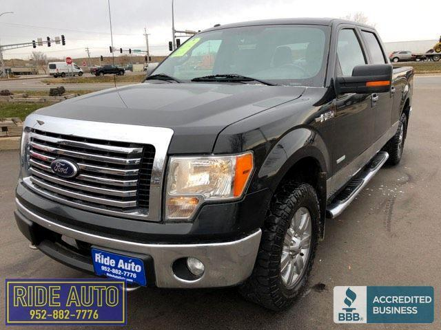 2012 Ford F-150 XLT, Crew cab 4dr, 4x4, 3.5 EcoBoost Turbo V6, nic
