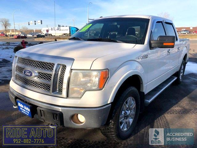 2010 Ford F-150 Lariat, Crew cab 4dr, 4x4, 5.4 V8, leather !