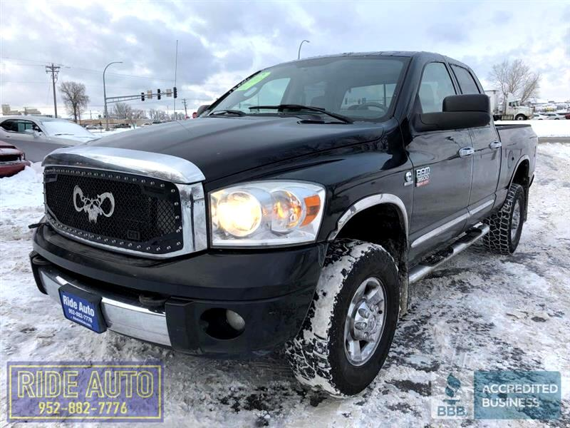 2008 Dodge Ram 3500 Laramie, Crew cab 4dr, 4x4, SHORT BOX, cummins die