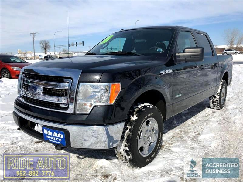 2013 Ford F-150 XLT, Crew cab 4dr, 4x4, 365hp EcoBoost V6 !