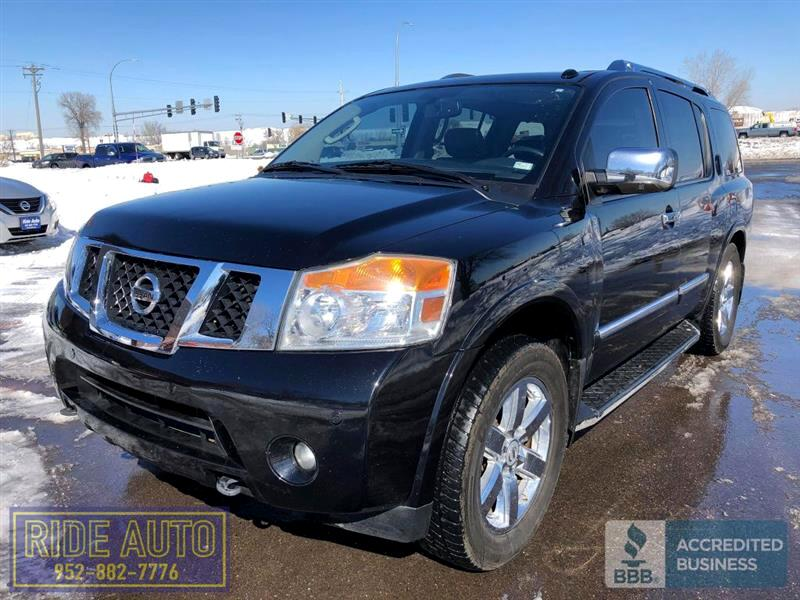 2011 Nissan Armada Platinum,8 passenger, 4x4, 5.6 V8, ALL OPTIONS !