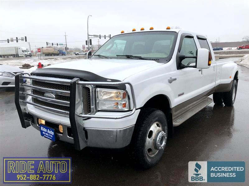 2005 Ford F350 King Ranch, Crew cab, Dually, FX4, TURBO DIESEL !