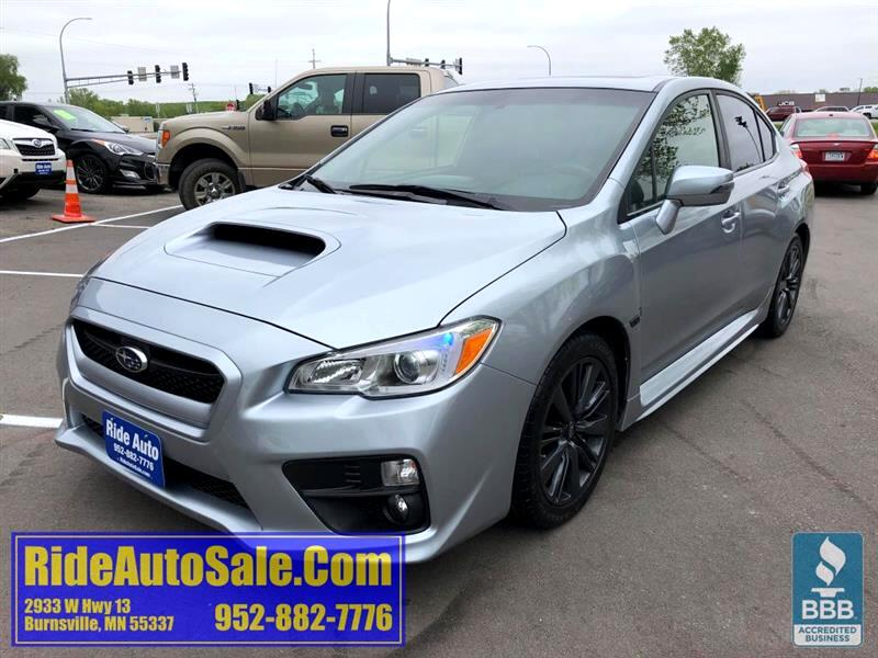 2015 Subaru WRX 4 door, Preminum, AWD, 2.5 Turbocharged, 6 speed !