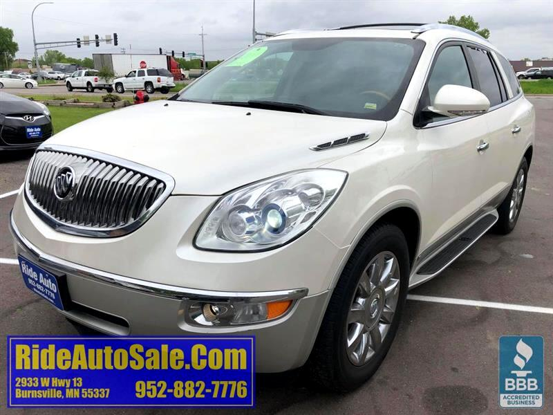 2011 Buick Enclave CXL, AWD, LEATHER QUADS, nice, PEARL WHITE !