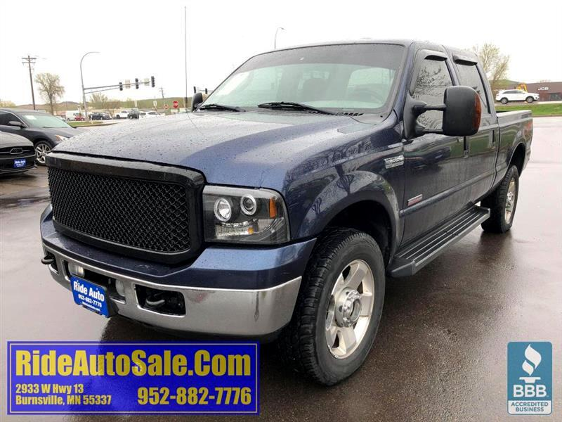 2006 Ford F350 Lariat, Crew cab 4dr, SHORT BOX, 4x4, TURBO DIESEL