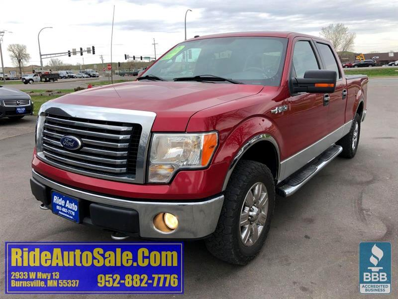 2010 Ford F-150 XLT, Crew cab, SHORT BOX, 4x4, 5.4 V8 !