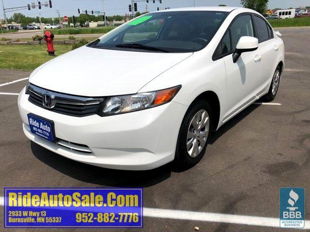 2012 Honda Civic LX, 4 door sedan, 1.8 4cyl, AUTOMATIC !