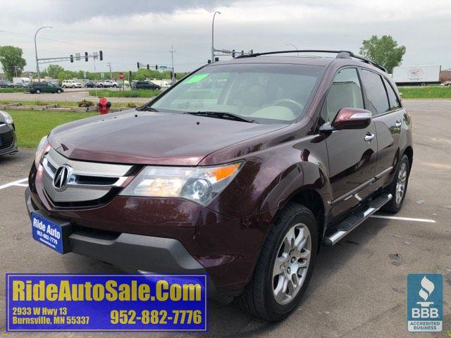 2009 Acura MDX Tech package, AWD, 3.7 V6, ALL OPTIONS !