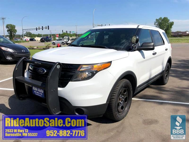 2014 Ford Utility Police Interceptor Explorer, AWD, High output V6, NICE !
