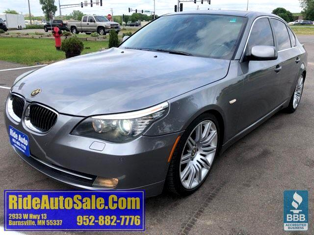 2008 BMW 550i 4 door, 5 series, 4.8 V8, ALL OPTIONS !