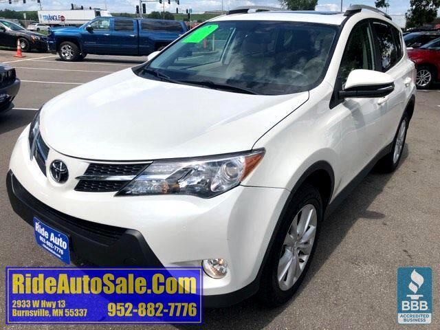 2013 Toyota RAV4 Limited, AWD, leather, P-roof, NICE !