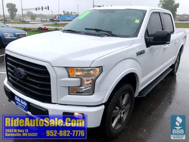 2016 Ford F-150 Lariat, Crew cab, 4x4, 5.0 V8, LEATHER !