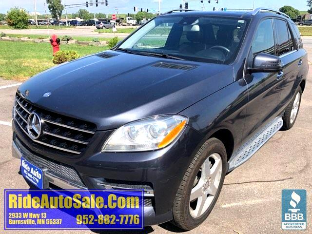 2015 Mercedes-Benz M-Class ML350, Cross over SUV, 302hp 3.5 V6, NICE !