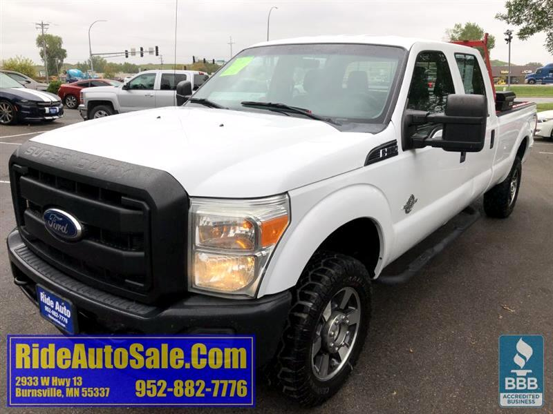 2011 Ford F350 XL, Crew cab 4dr, LONG BOX, 4x4, 6.7 turbo diesel