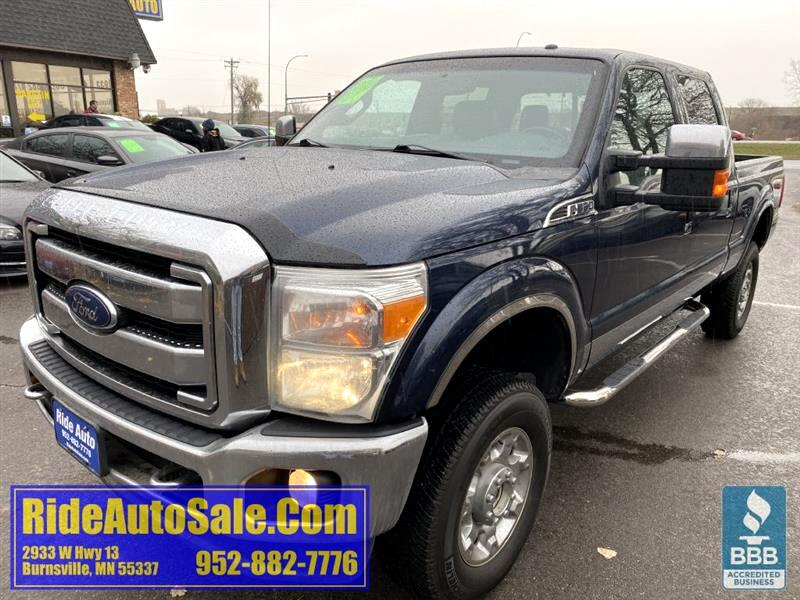 2013 Ford F350 Lariat, Crew cab, 4x4, gas 400hp 6.2 V8, LOADED !