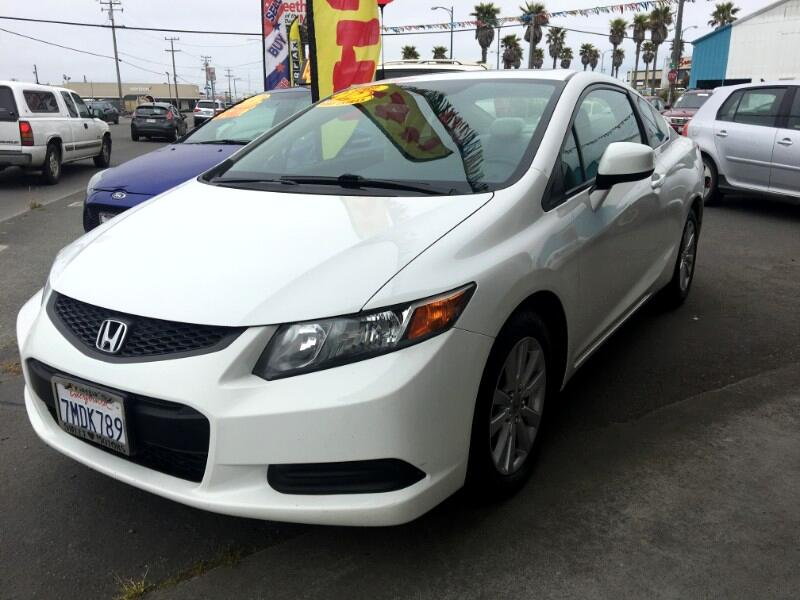 2012 Honda Civic EX Coupe 5-Speed MT