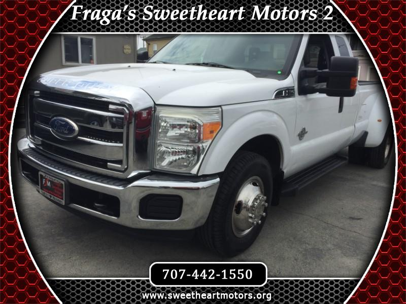2011 Ford F-350 SD Lariat SuperCab Long Bed DRW 2WD