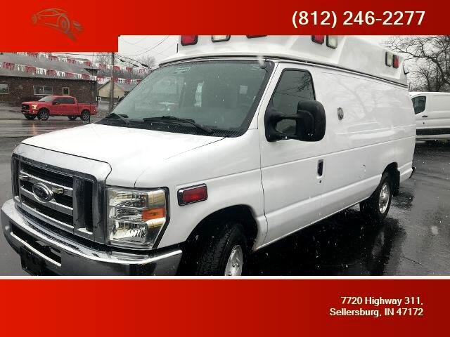 2009 Ford E-350 Commercial Extended Van 3D