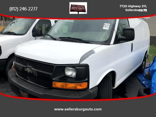 2007 Chevrolet Express Van 3D