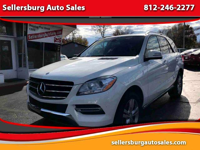 2013 Mercedes-Benz M-Class ML 350 BlueTEC 4MATIC Sport Utility 4D
