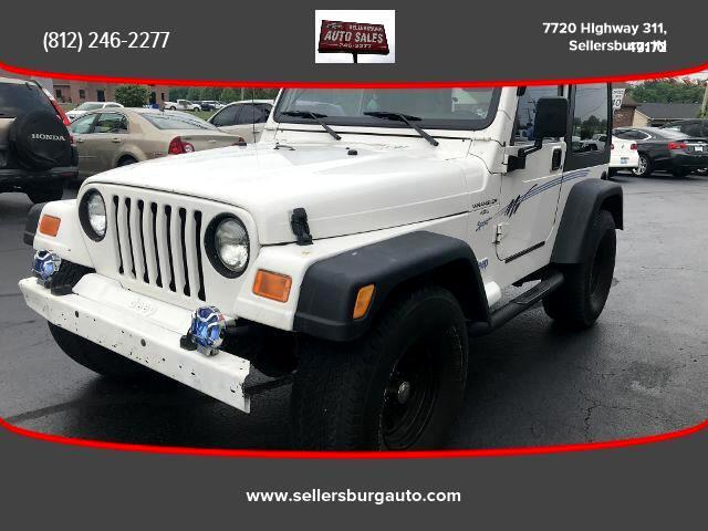 1997 Jeep Wrangler Sport Utility 2D