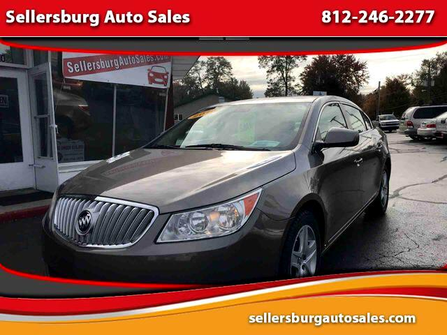 2010 Buick LaCrosse CX Sedan 4D