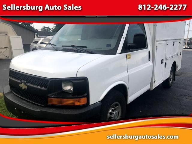 2010 Chevrolet Express Van Cab-Chassis 2D