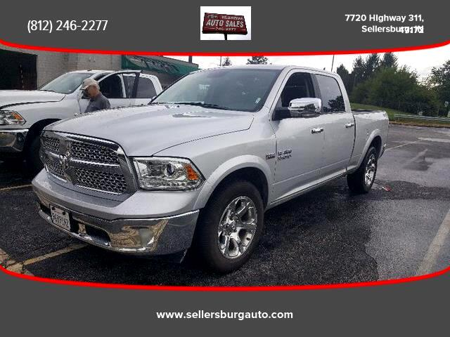 2018 RAM 1500 Laramie Pickup 4D 6 1/3 ft