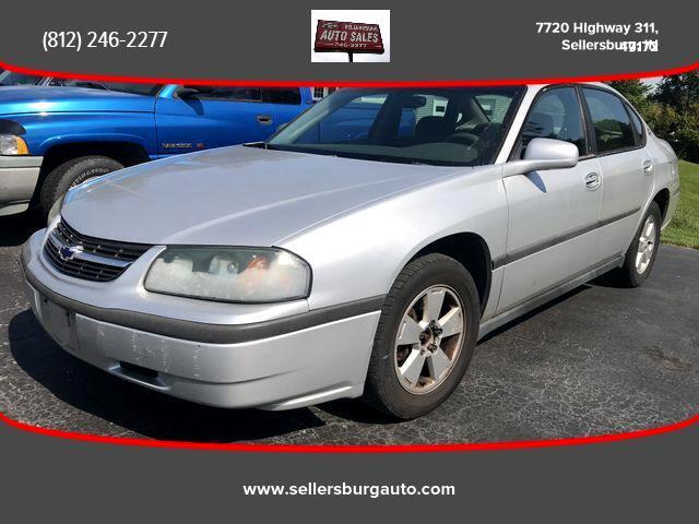 2004 Chevrolet Impala Sedan 4D