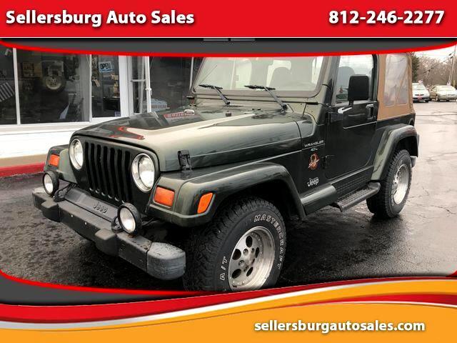 1998 Jeep Wrangler Sahara Sport Utility 2D