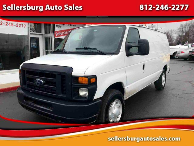 2009 Ford Econoline Commercial Van 3D
