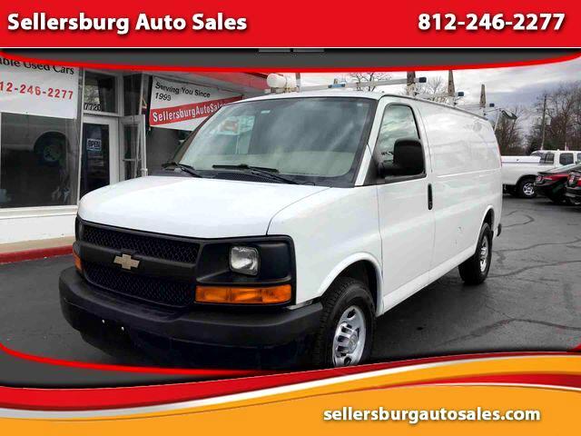 2012 Chevrolet Express Van 3D