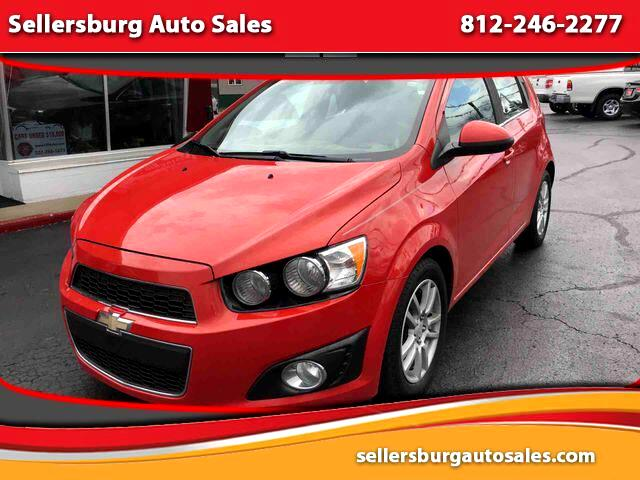 2012 Chevrolet Sonic LT Hatchback Sedan 4D