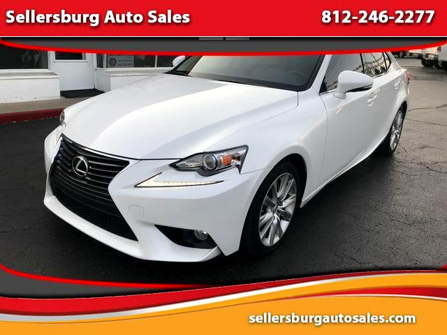 2014 Lexus IS IS 250 Sedan 4D