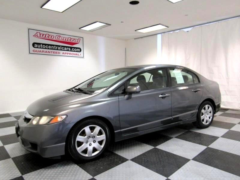 2010 Honda Civic LX Sedan 5-Speed MT
