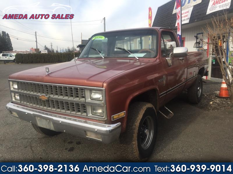 Chevrolet C/K 20 Regular Cab 4WD 1982