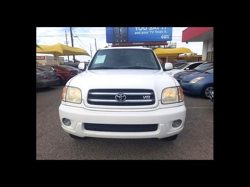 2002 Toyota Sequoia Limited 2WD