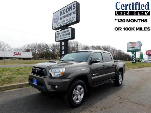 Toyota Tacoma TRD Sport Double Cab 5' Bed V6 4x4 AT (Natl) 2015