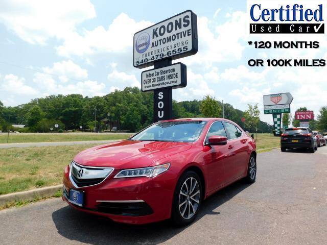 Acura TLX 9-Spd AT SH-AWD w/Technology Package 2017