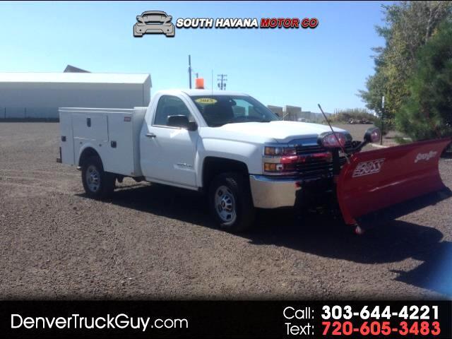 2015 Chevrolet Silverado 2500HD Work Truck Long Box 4WD