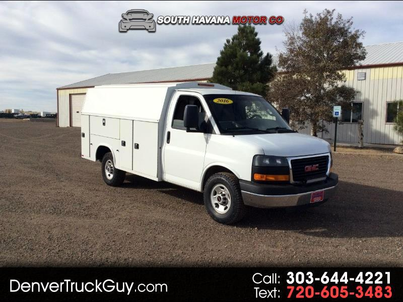 2016 GMC Savana G3500 139 in.