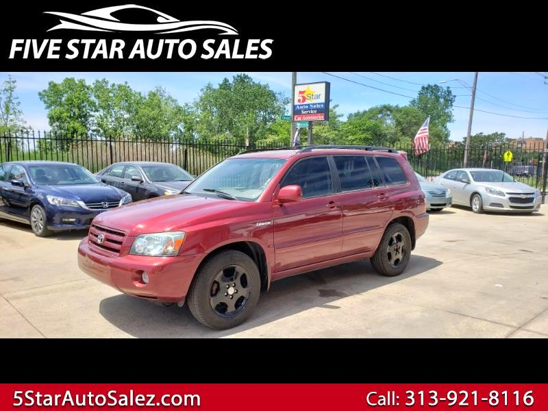 Toyota Highlander 2WD 4dr V6 Limited w/3rd Row (Natl) 2004