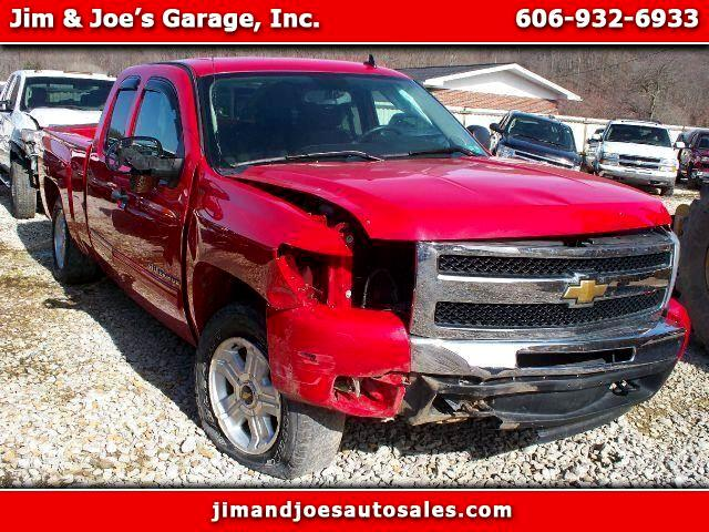 2010 Chevrolet Silverado 1500 LT Ext. Cab 4-Door Short Bed 4WD
